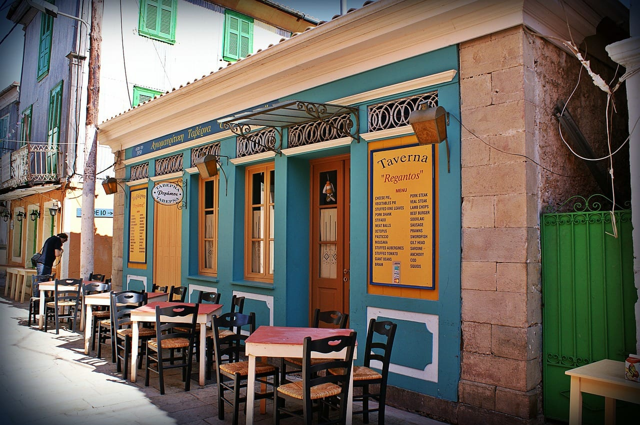 Try eating at Taverna Regantos in Lefkada