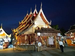 A temple in Chiang Mai Thailand
