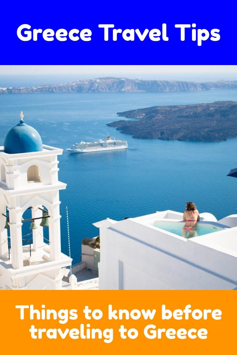 Greece Travel Tips - Everything you need to know before traveling to Greece for the first time.