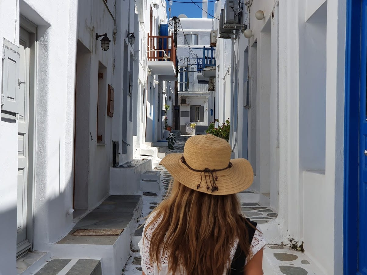 September is a good time to go to Mykonos for fewer tourists
