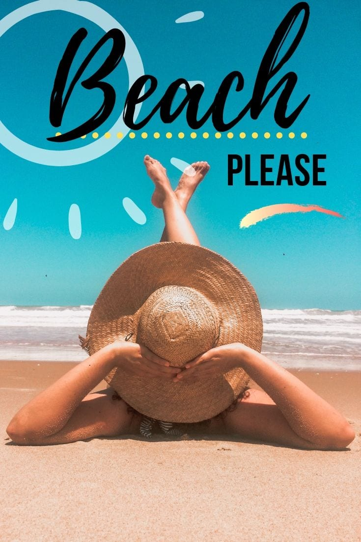 Beach paradise quotes - Beach please.