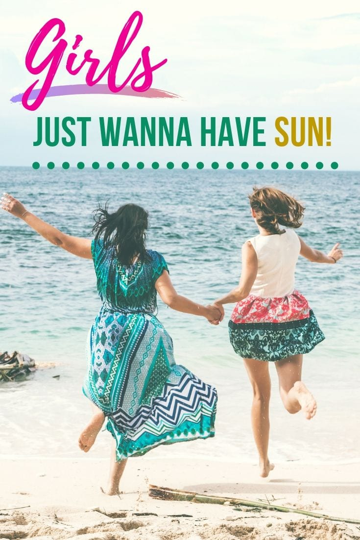 Toes in the sane quotes - Girls just wanna have sun!