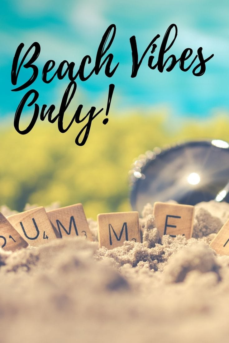 Beach love quotes - Beach Vibes Only!