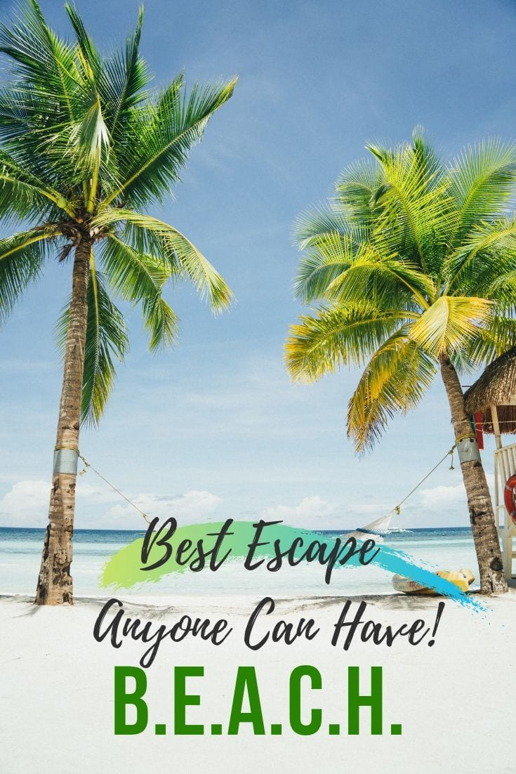 Sea Captions - B.E.A.C.H. Best Escape Anyone Can Have!