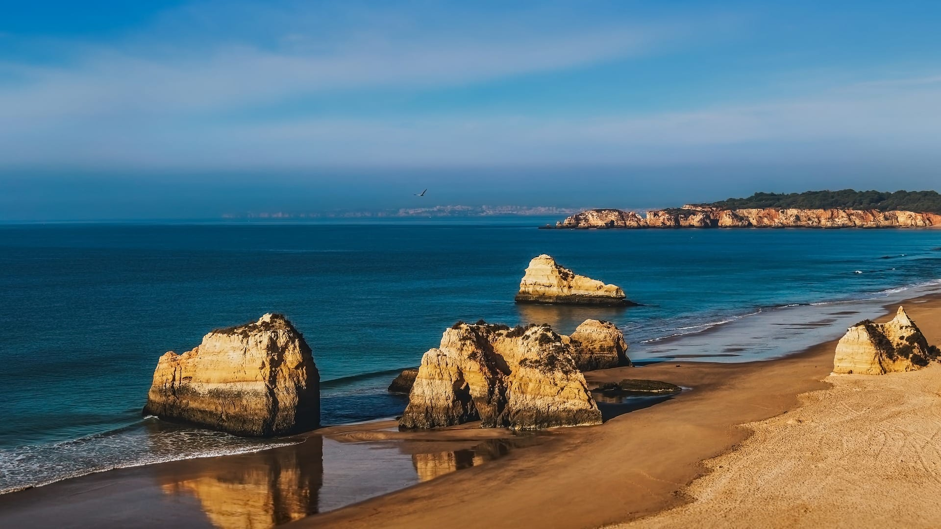 The Algarve of Portugal has some beautiful beaches to enjoy in winter
