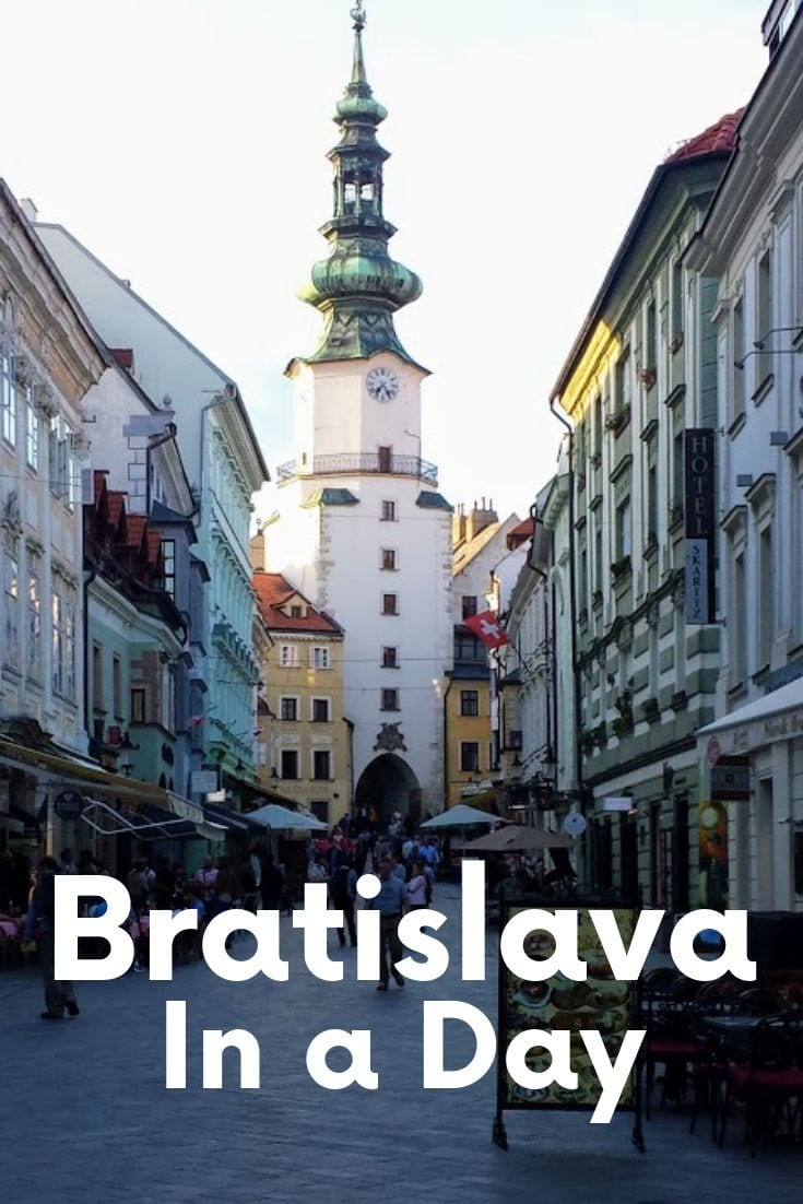 A guide to seeing Bratislava highlights and attractions
