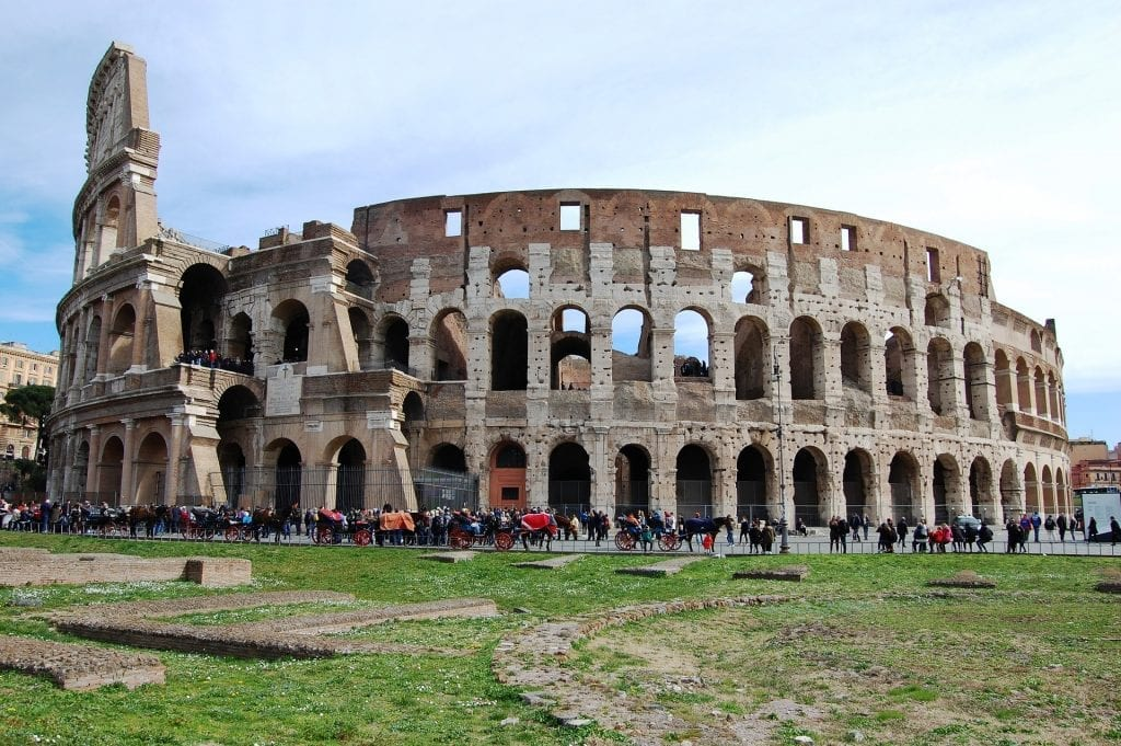 See the Colosseum when spending one day in Rome