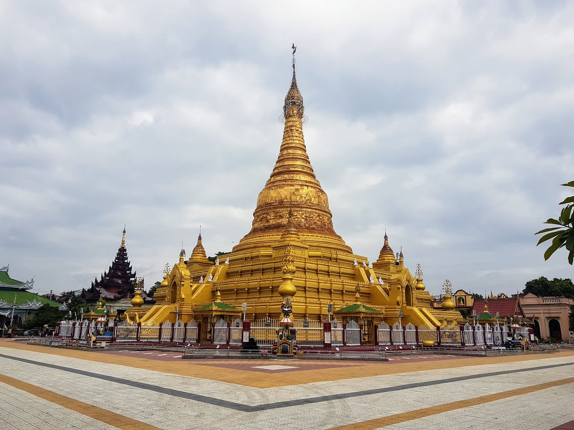 Ein Daw Yar Pagoda in Mandalay Myanmar
