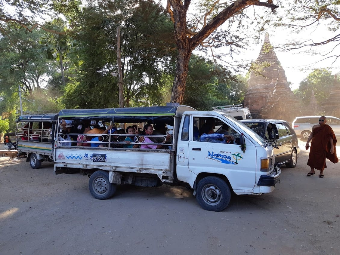 Locals only transport in Bagan, Myanmar