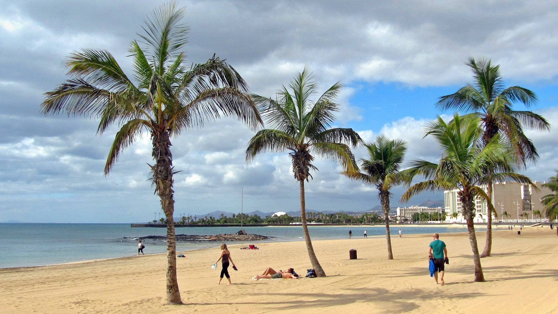 The Canary island of Lanzarote is another good choice for winter sun in December