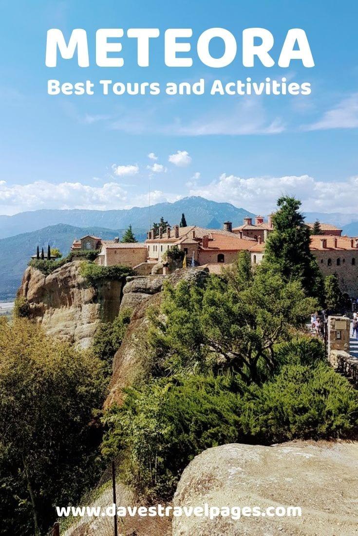 The best tours and activities in Meteora Greece