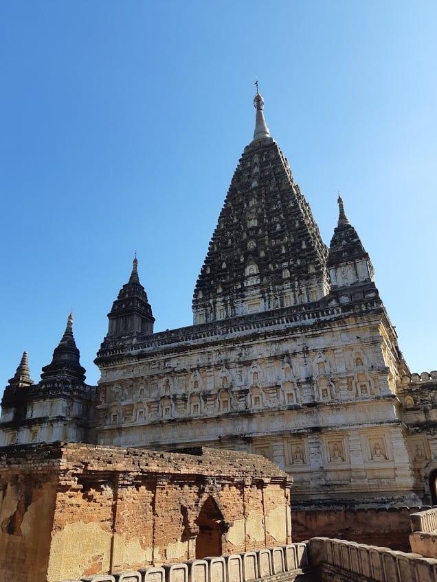 The Mahabodhi temple at Bagan