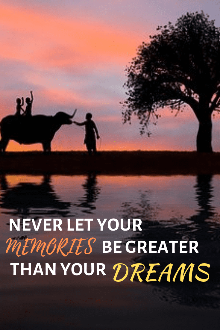 Quotes about journey of life - Never let your memories be greater than your dreams quote