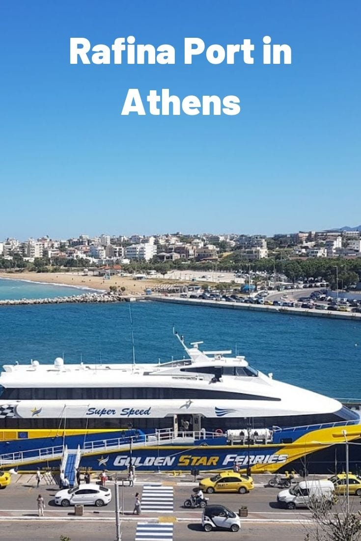 Rafina Port in Athens - Everything you need to know about Rafina Port before taking a ferry to the Greek islands.