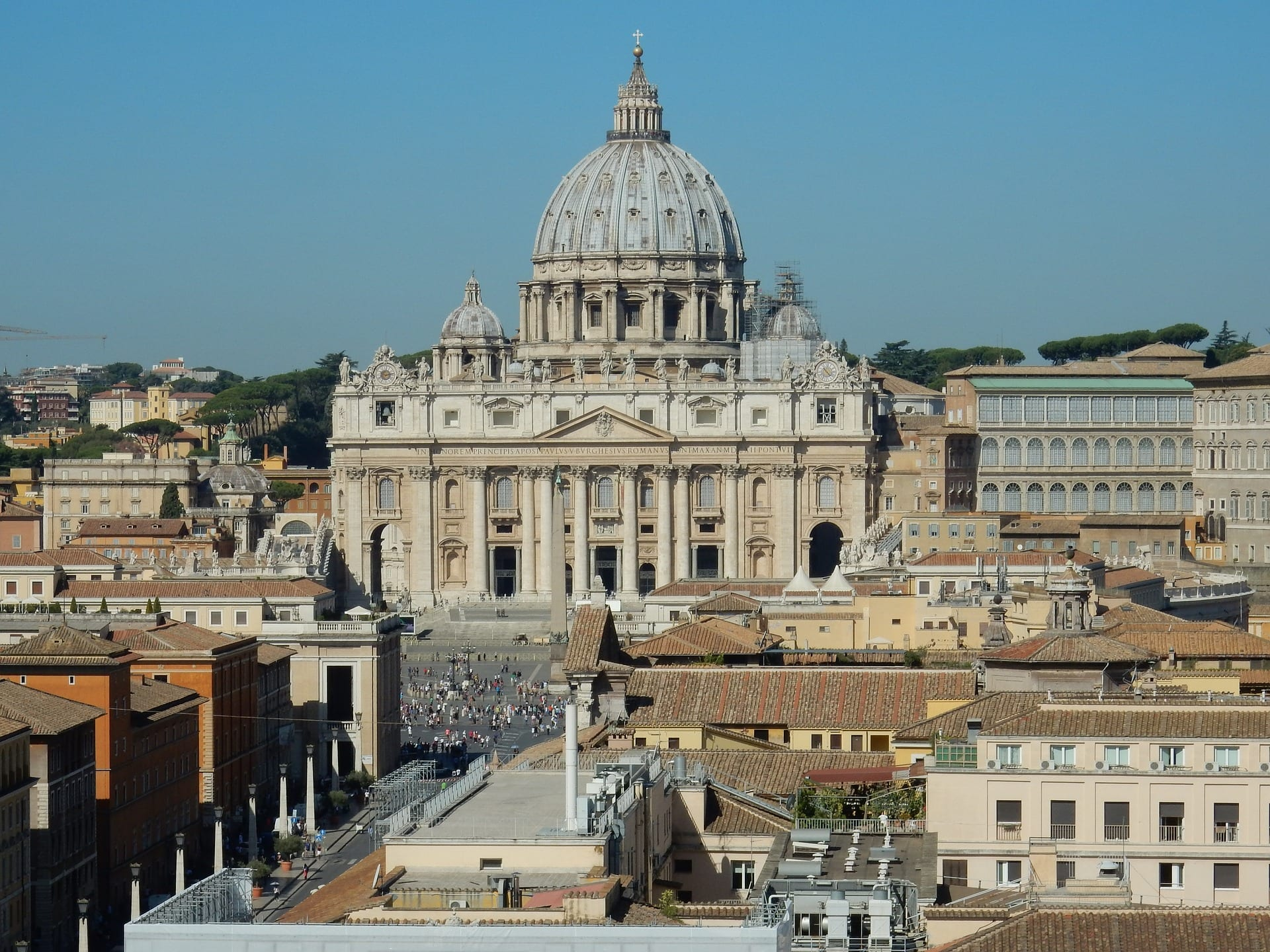 Things to see in Rome include St Peter's Basilica
