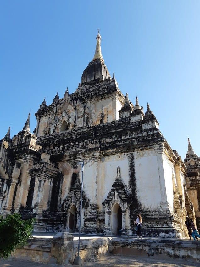Thatbyinnyu pagoda in Bagan