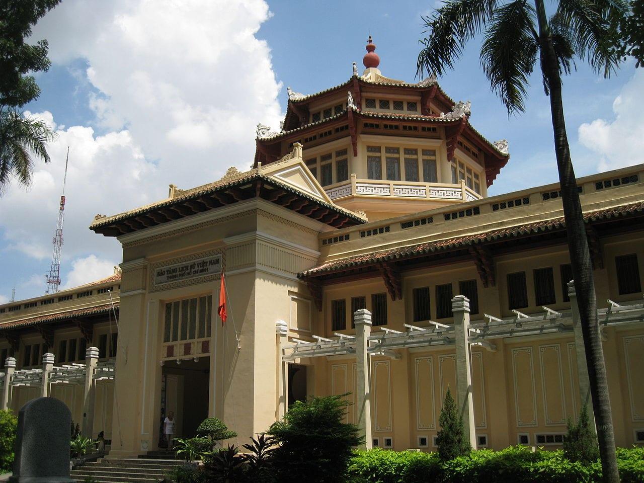 Vietnam History Museum in Saigon