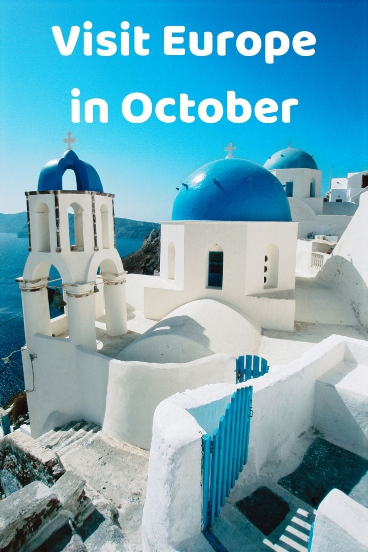 The best places to visit in Europe in October