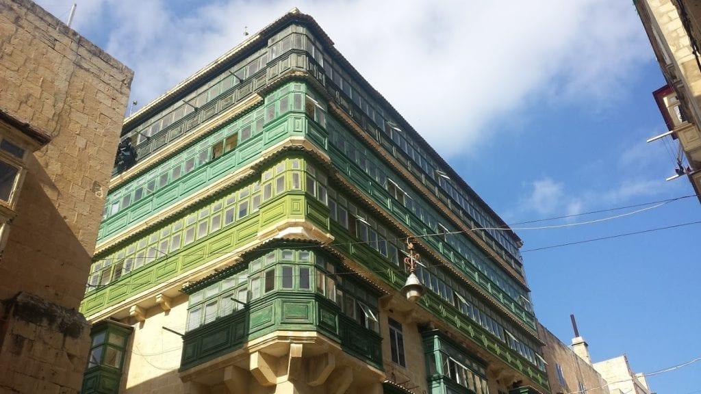A building in Malta