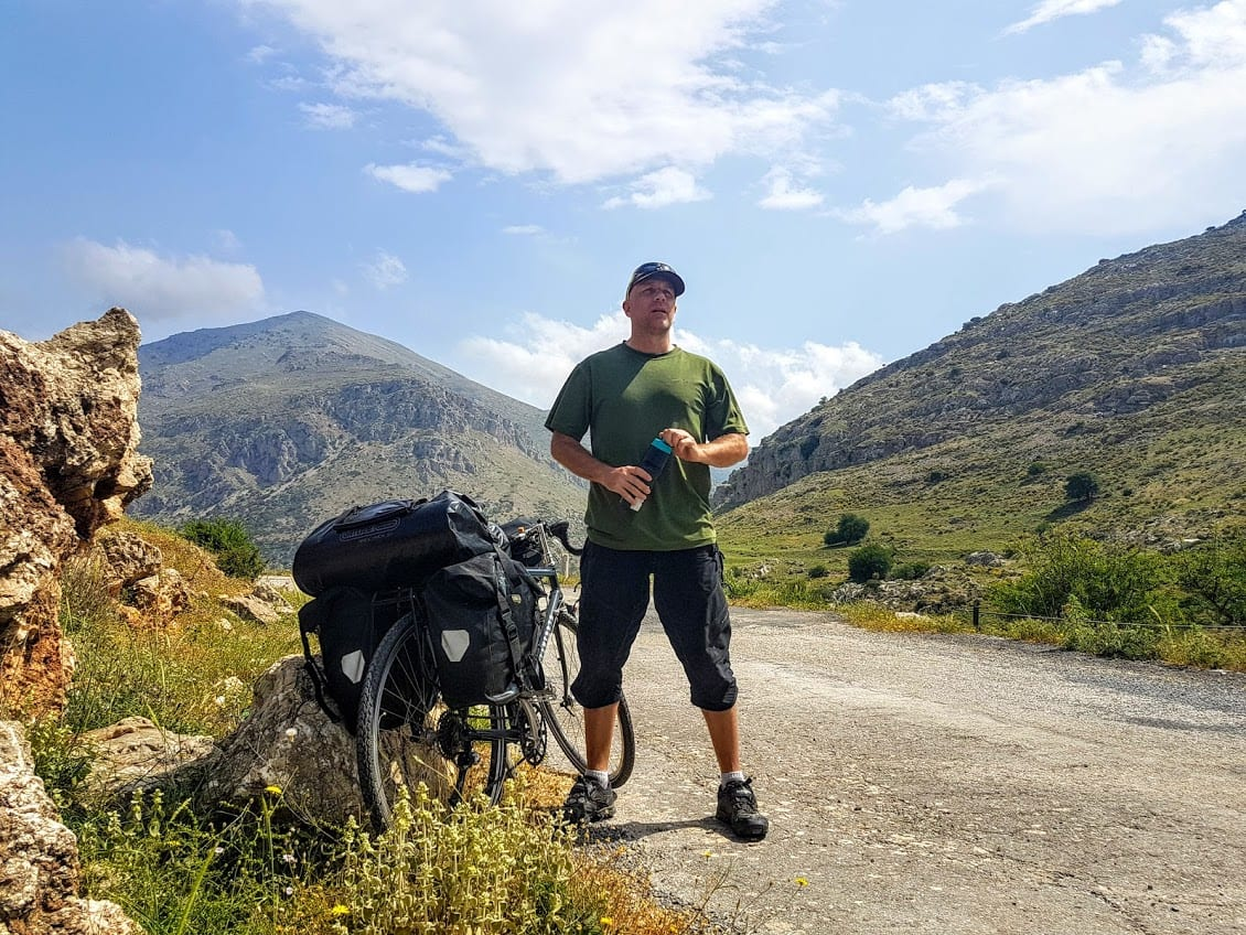 Cycling the mountains in Greece