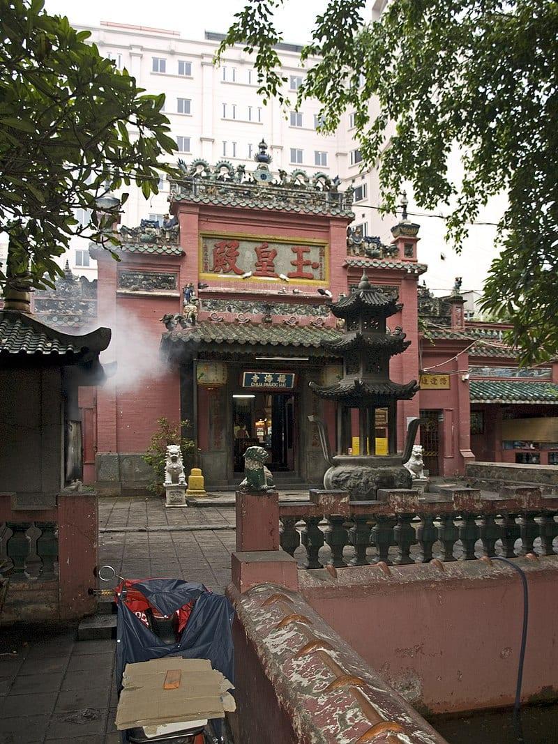 The Jade Emperor Pagoda in Saigon Vietnam