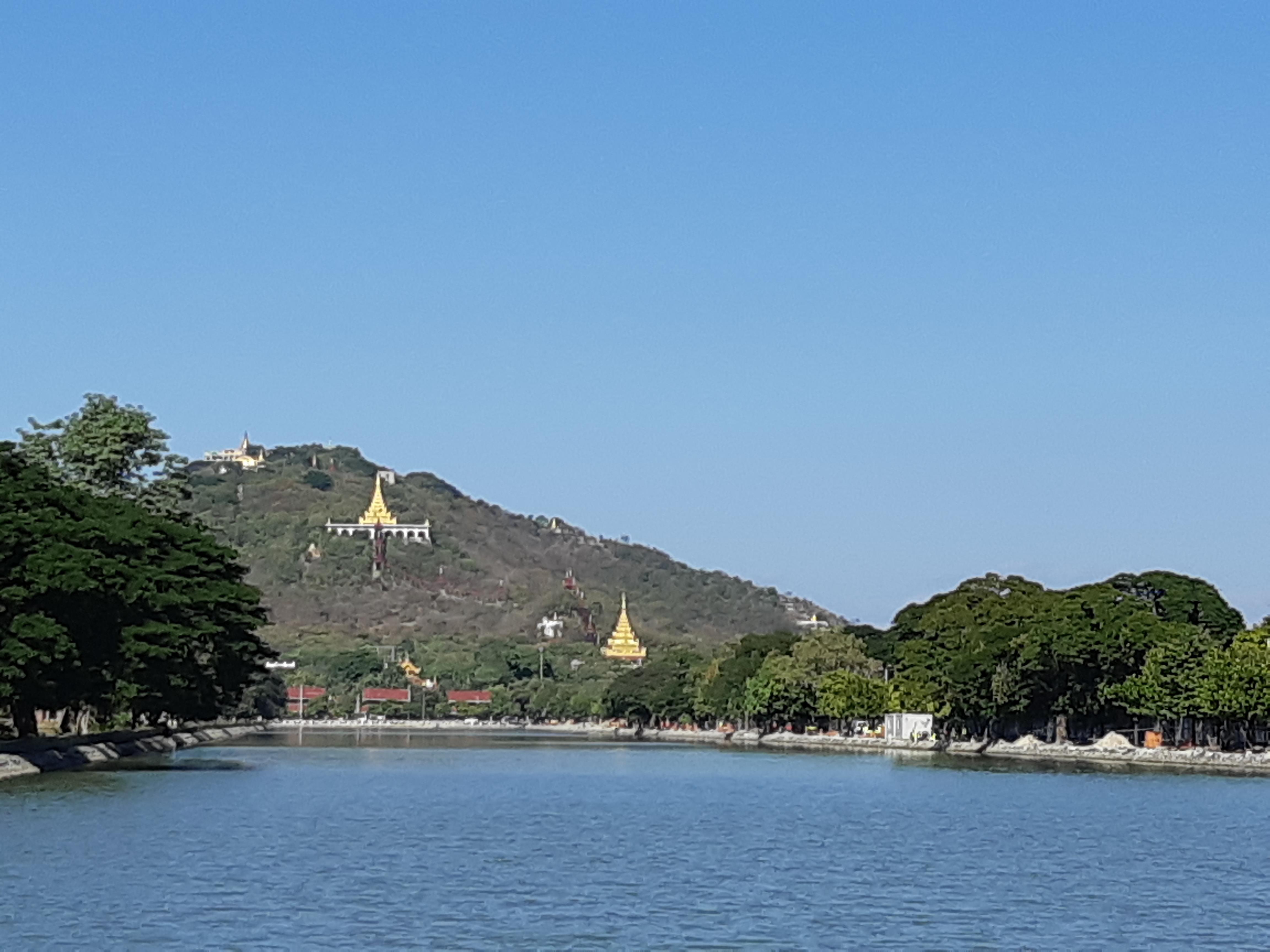 A photo of Mandalay Hill