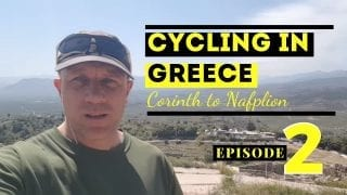 Cycling in the Peloponnese Episode 2 - Corinth to Nafplion