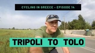 Cycling in Greece Episode 14 - Tripoli to Tolo