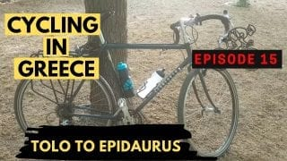 Cycling in the Peloponnese Episode 15 - Tolo to Epidaurus