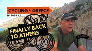 Cycling in Greece Episode 17 - Camping Glaros to Athens