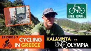 Cycling in Greece Episode 7 - Kalavrita to Olympia