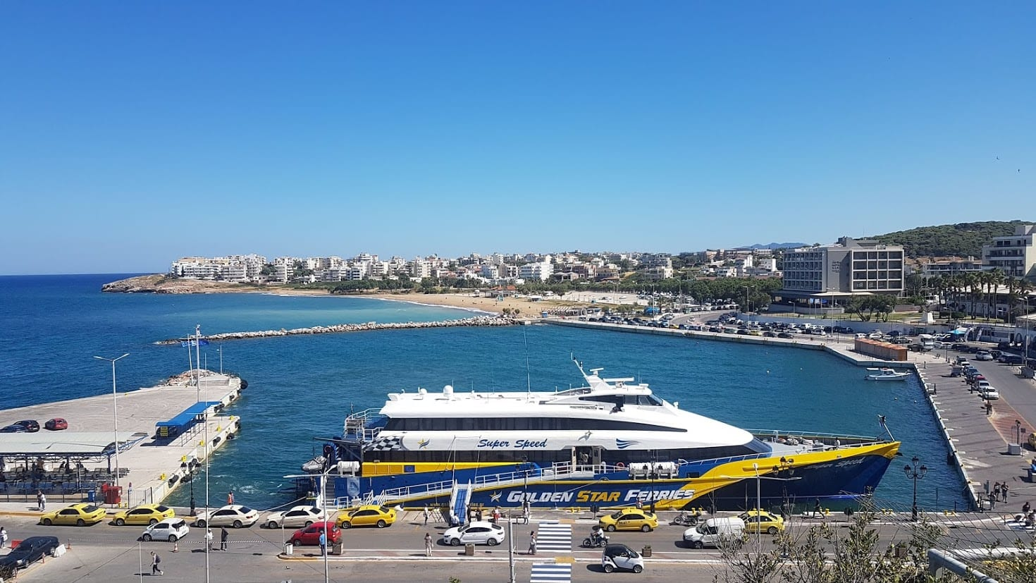 A complete guide to Rafina Port in Athens Greece