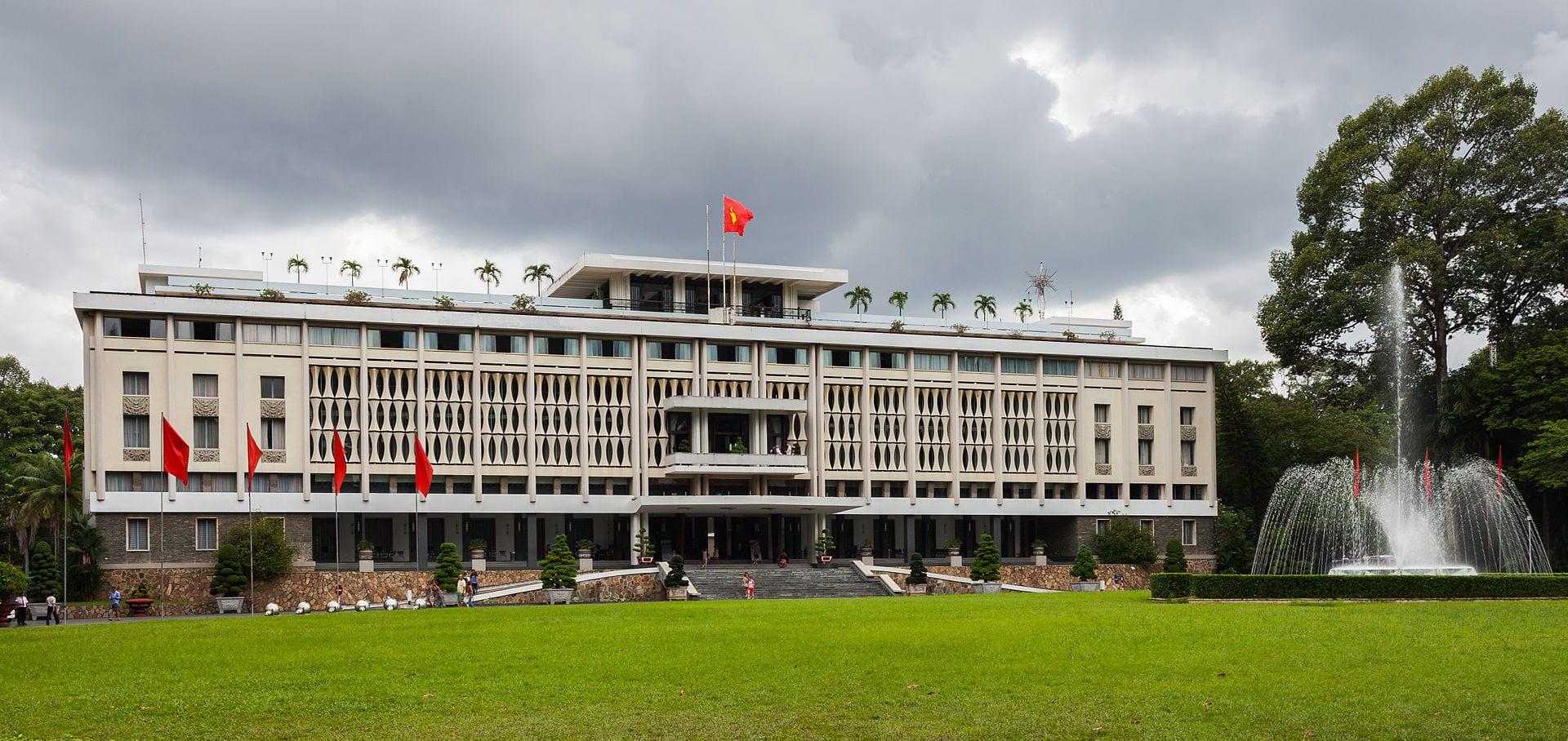 Reunification Palace in Saigon