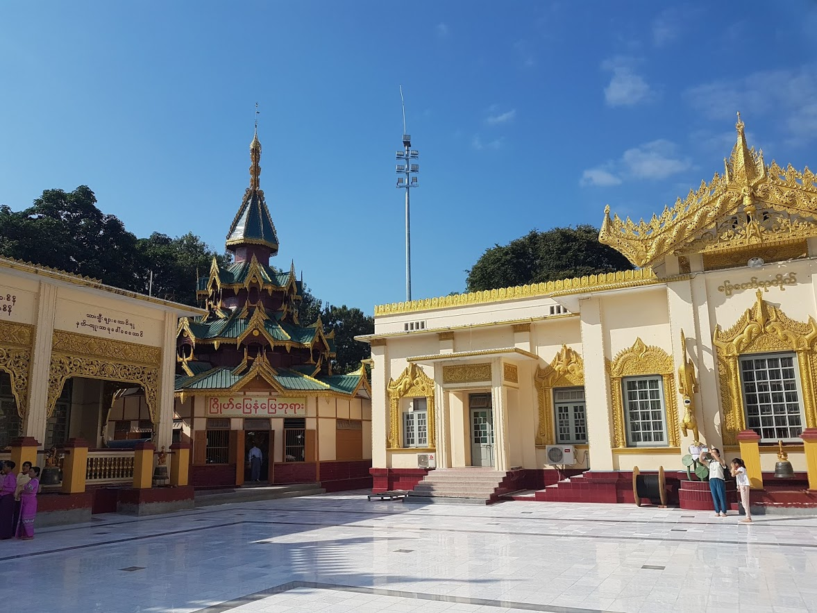 Visiting the temples is one of many things to do in Mandalay Myanmar