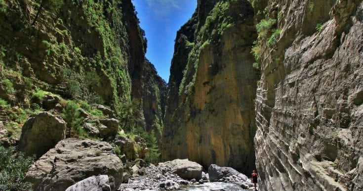 Hike the Samaria Gorge