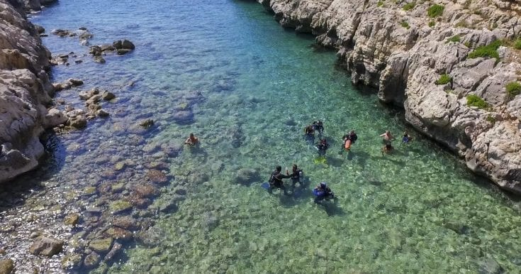 Scuba diving in Chania – Taster experience