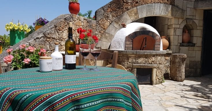 Cretan wine and olive oil Chania day tour