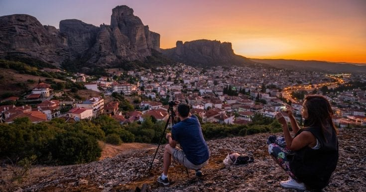 Sunrise Meteora photography tour
