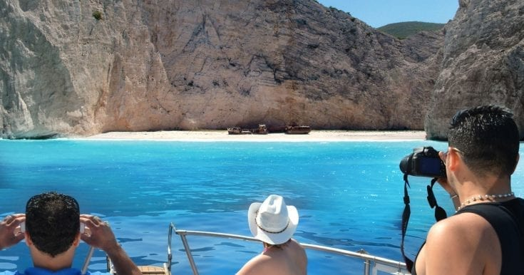 Private speedboat tour to Navagio beach and the Blue Caves