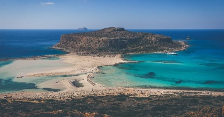 Take a Boat Cruise to Balos Lagoon and Gramvousa Island