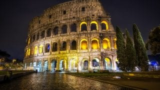 Colosseum by Night Tour (Guided tour – 2.5 hours)