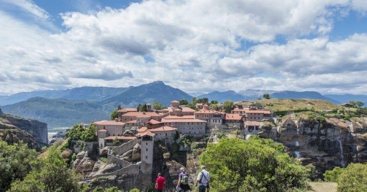 5 hour Hiking Tour of Meteora