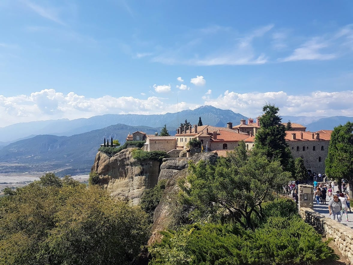 When visiting Meteora in Greece, you'll see the incredible landscape and monasteries when taking Meteora tours