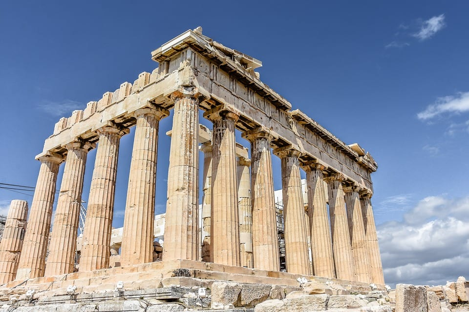 Visiting the Parthenon in the Acropolis in Athens