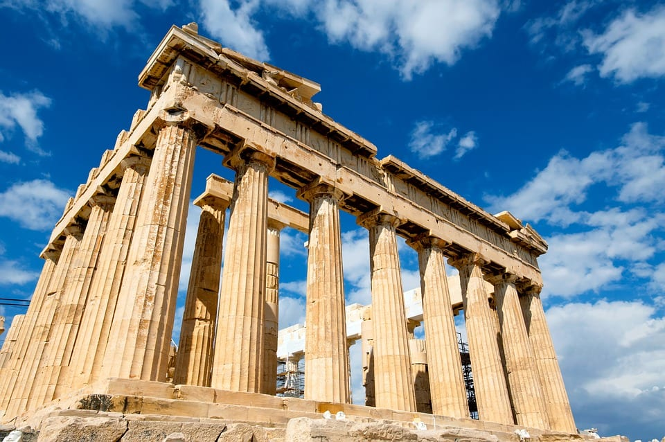 Visit the Acropolis when spending Christmas in Athens, but remember to check the opening times!