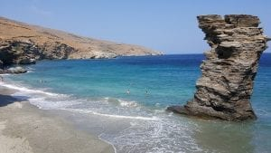 Andros island in Greece has some incredible beaches to choose from