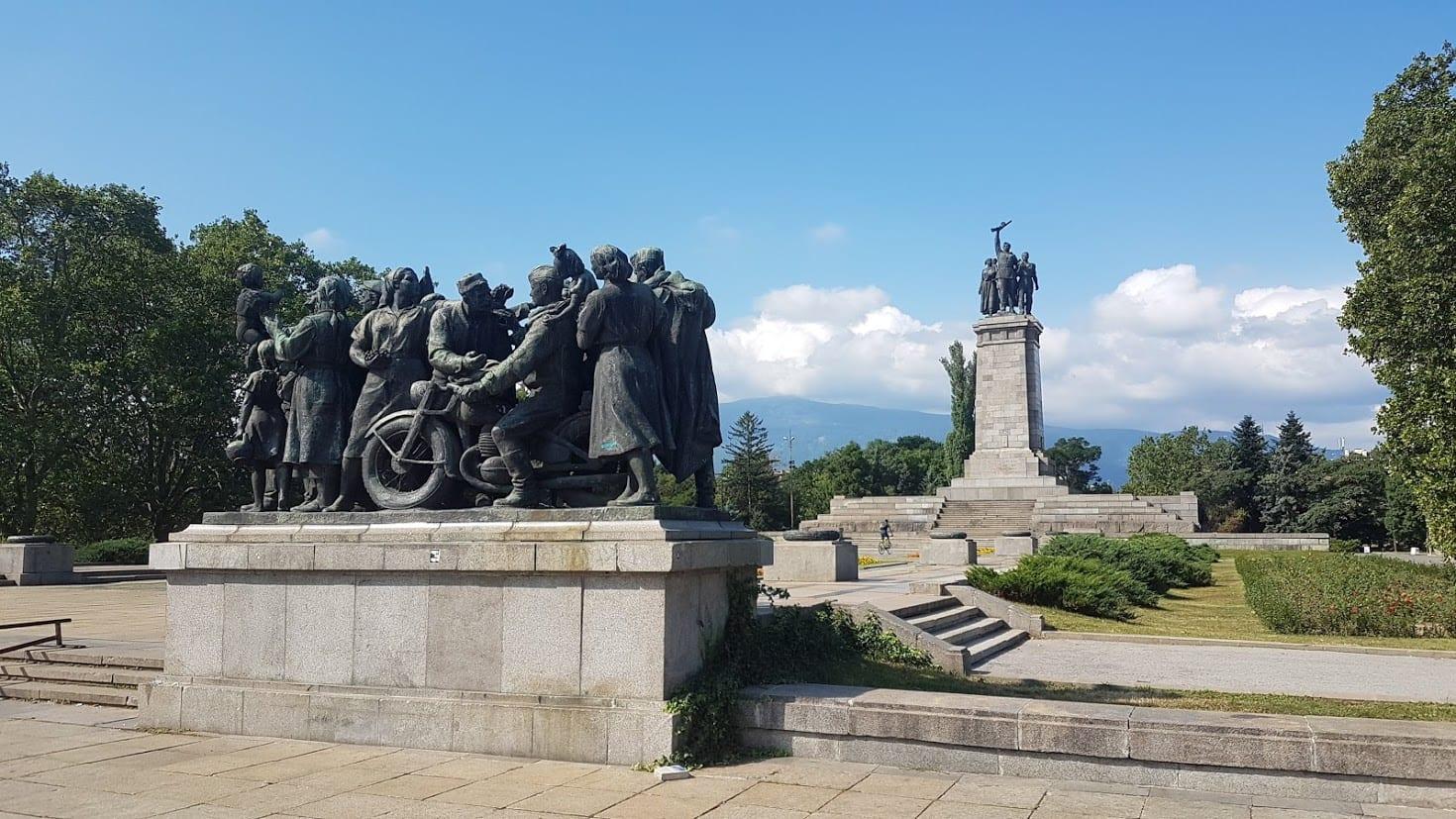 Knyazheska Garden in Sofia in Bulgaria