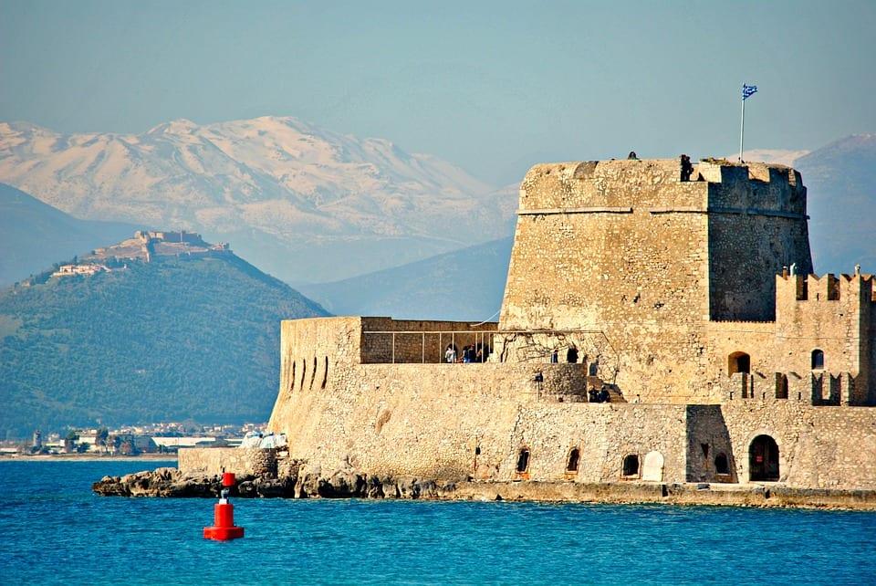 The Nafplio fortress