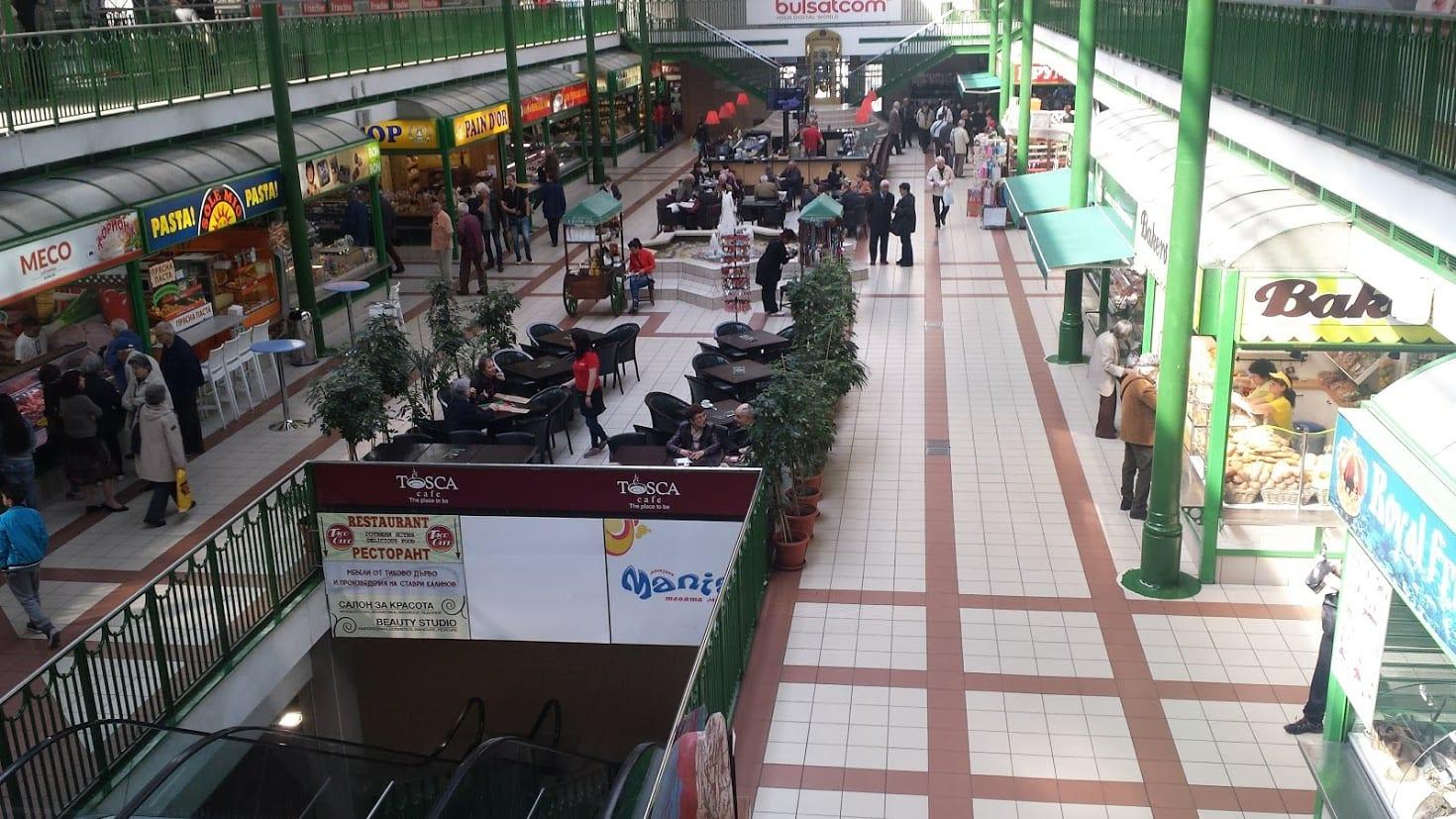 Inside Sofia central market