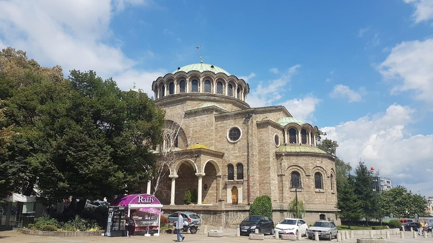 St Nedelya Square in Sofia
